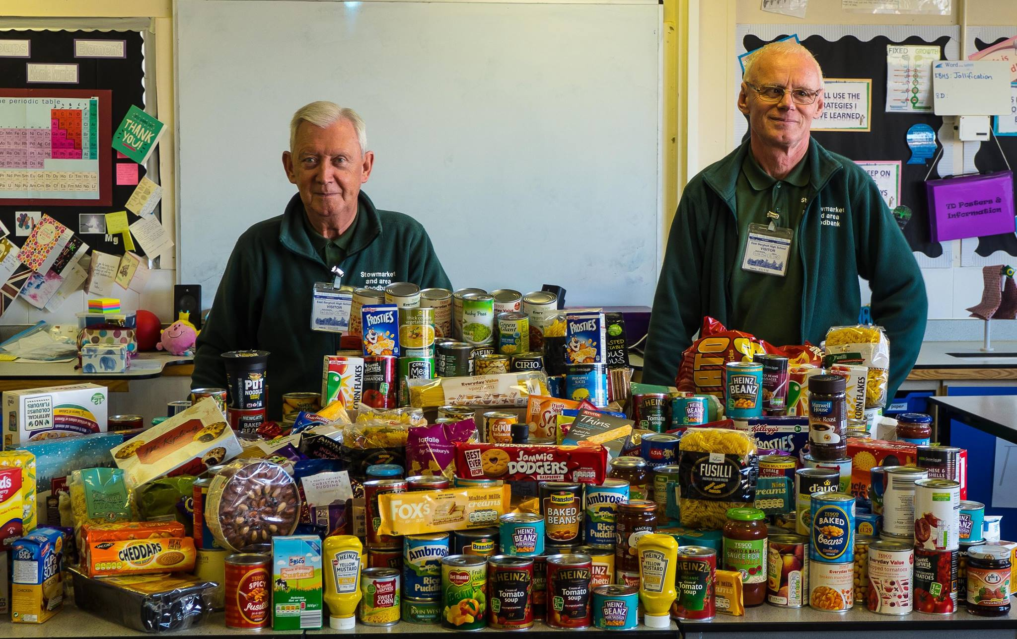 Stowmarket & area foodbank by New Life (Suffolk) fundraising photo 2
