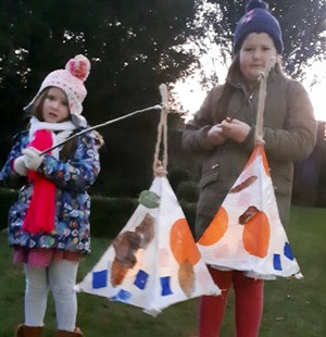 Stars and Shadows: a magical, sparkling Christmas experience for families in the Gardens: a community made art installation and lantern parade. by Castle Bromwich Hall Gardens fundraising photo 2