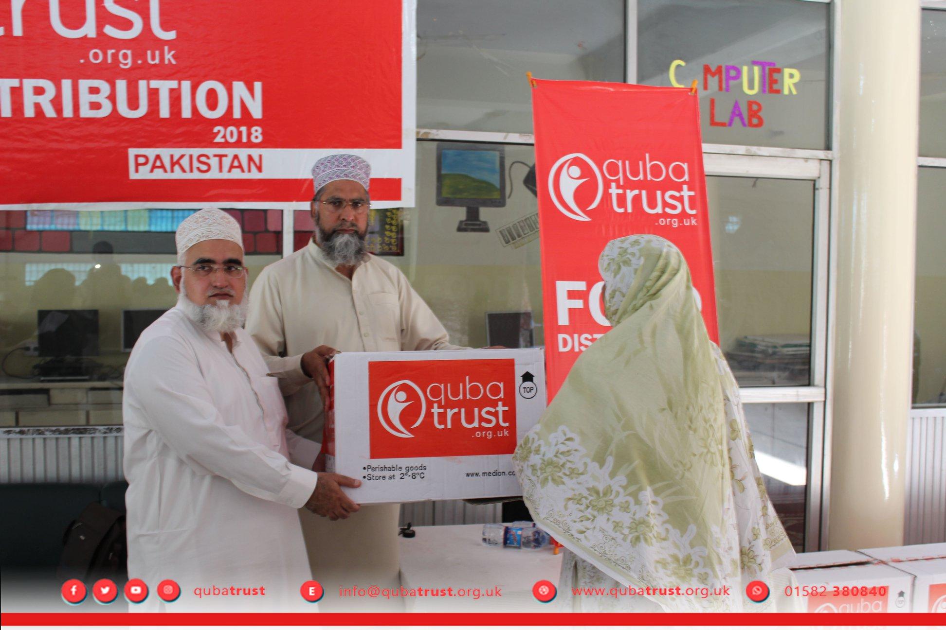 Ramadhan Food Packs by Quba Trust fundraising photo 4