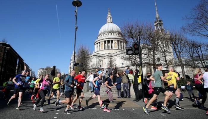London Landmarks Half Marathon by Chartered Accountants' Livery Charity fundraising photo 3