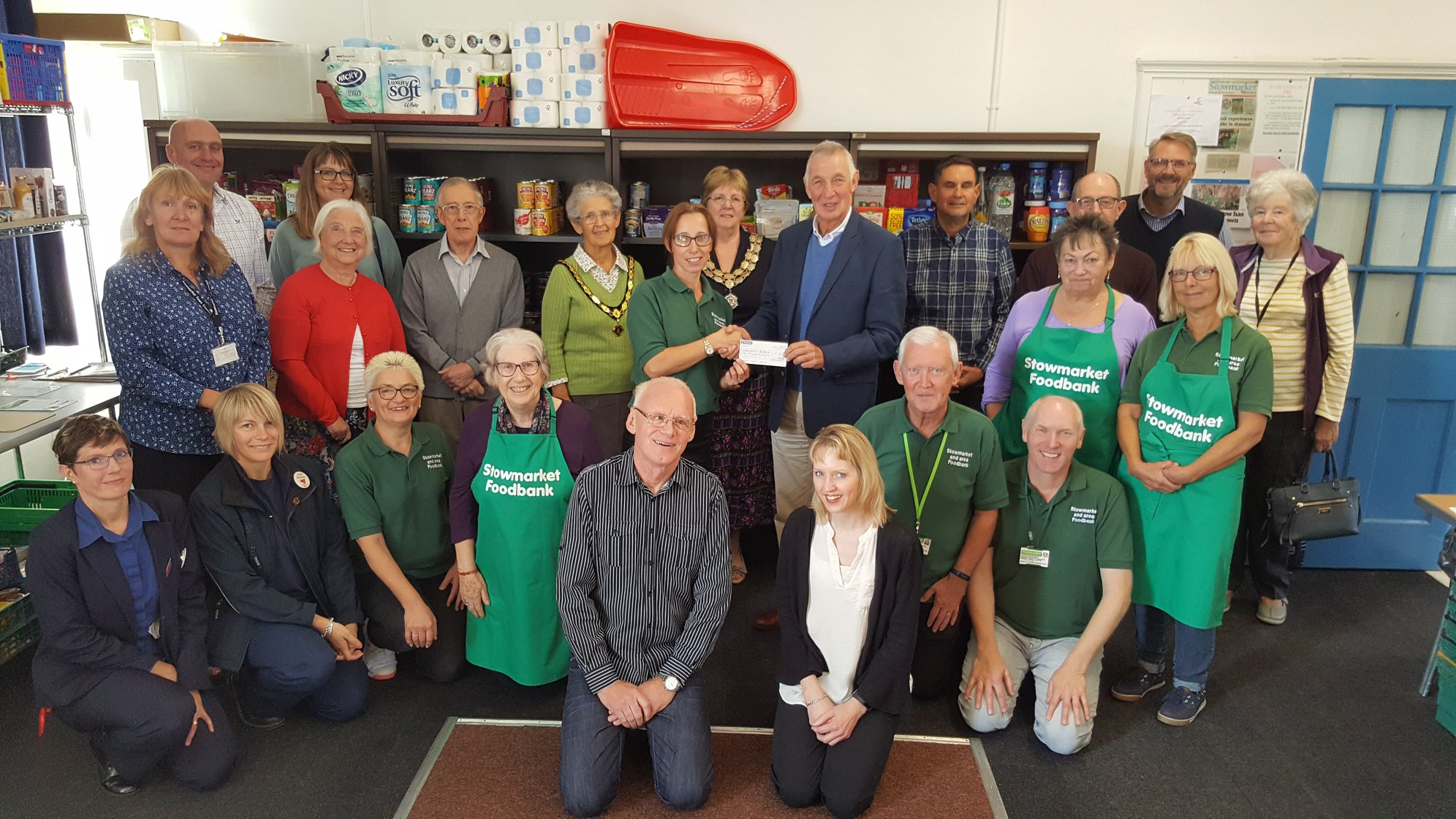 Stowmarket & area foodbank by New Life (Suffolk) fundraising photo 5