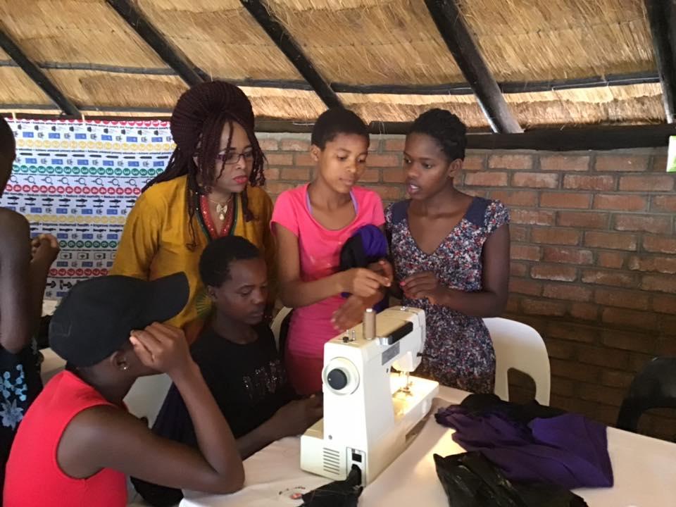 Zimbabwe Women's Centre by AOS UK fundraising photo 1
