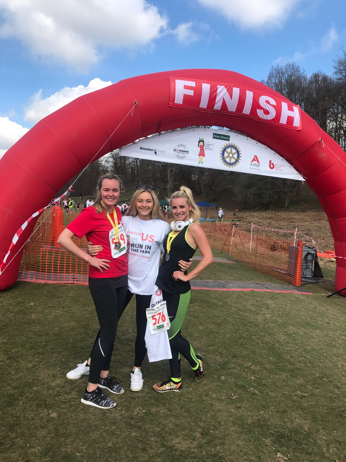 RUN in the PARK  8th April 2018 by Friends of Shelby Newstead fundraising photo 3