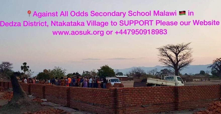 Malawi Secondary School Building Project by AOS UK fundraising photo 1