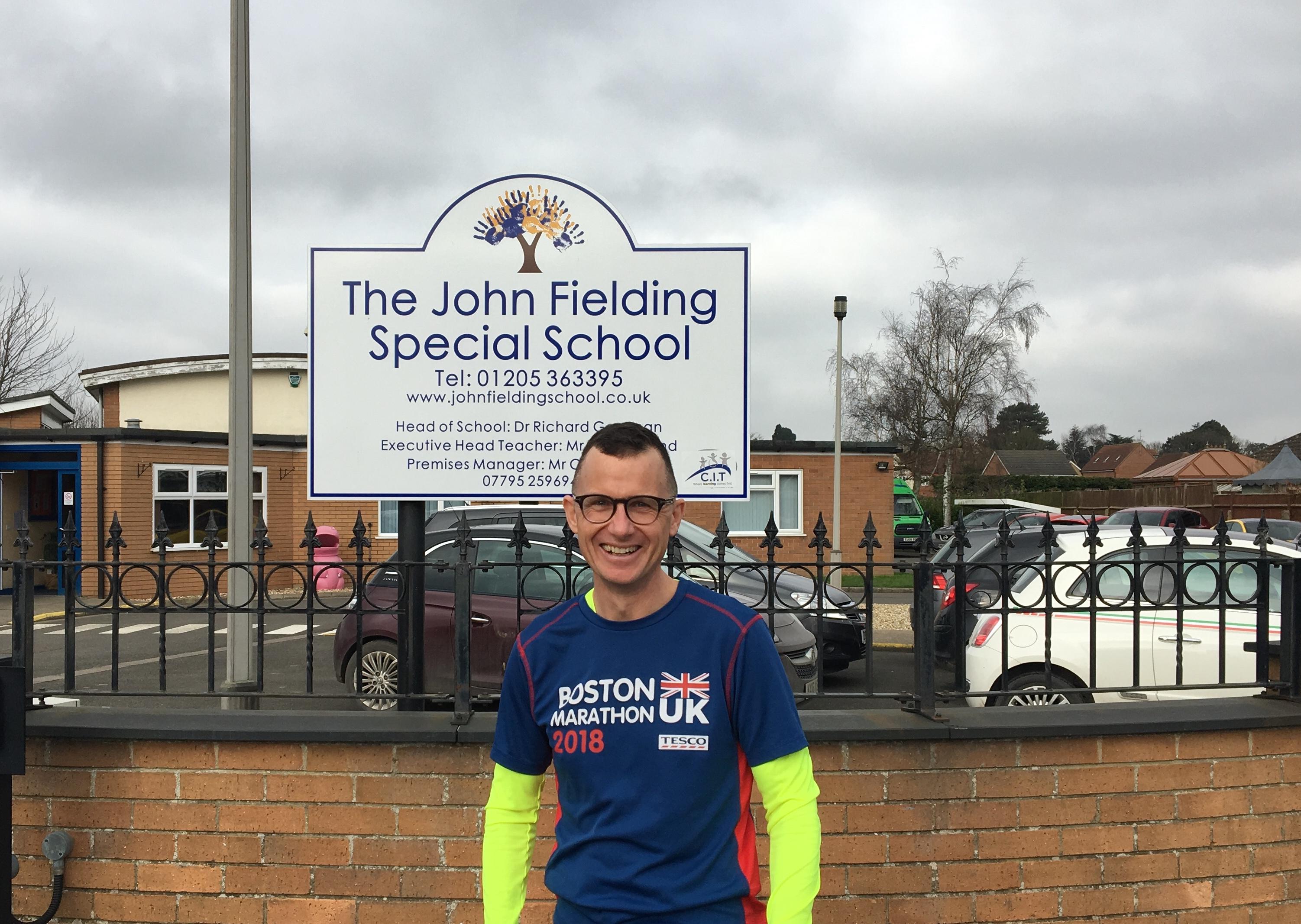 Headteacher to run the London Marathon  by Community Inclusive Trust fundraising photo 1