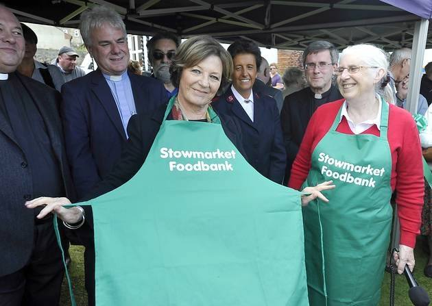 Stowmarket & area foodbank by New Life (Suffolk) fundraising photo 4