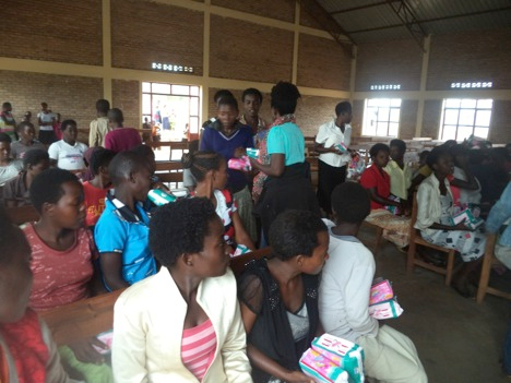 Sanitary Pads by RSVP Trust fundraising photo 1