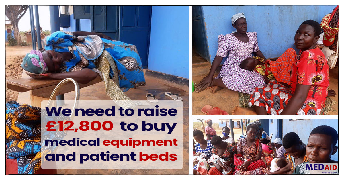 A £1 a week donation can save and transform the life of a child. This is your hospital. Please make a donation .   Together let's  make a lasting legacy of building a hospital with a £1 a week donation.  Thank you for donating. by Medaid United Kingdom fundraising photo 2