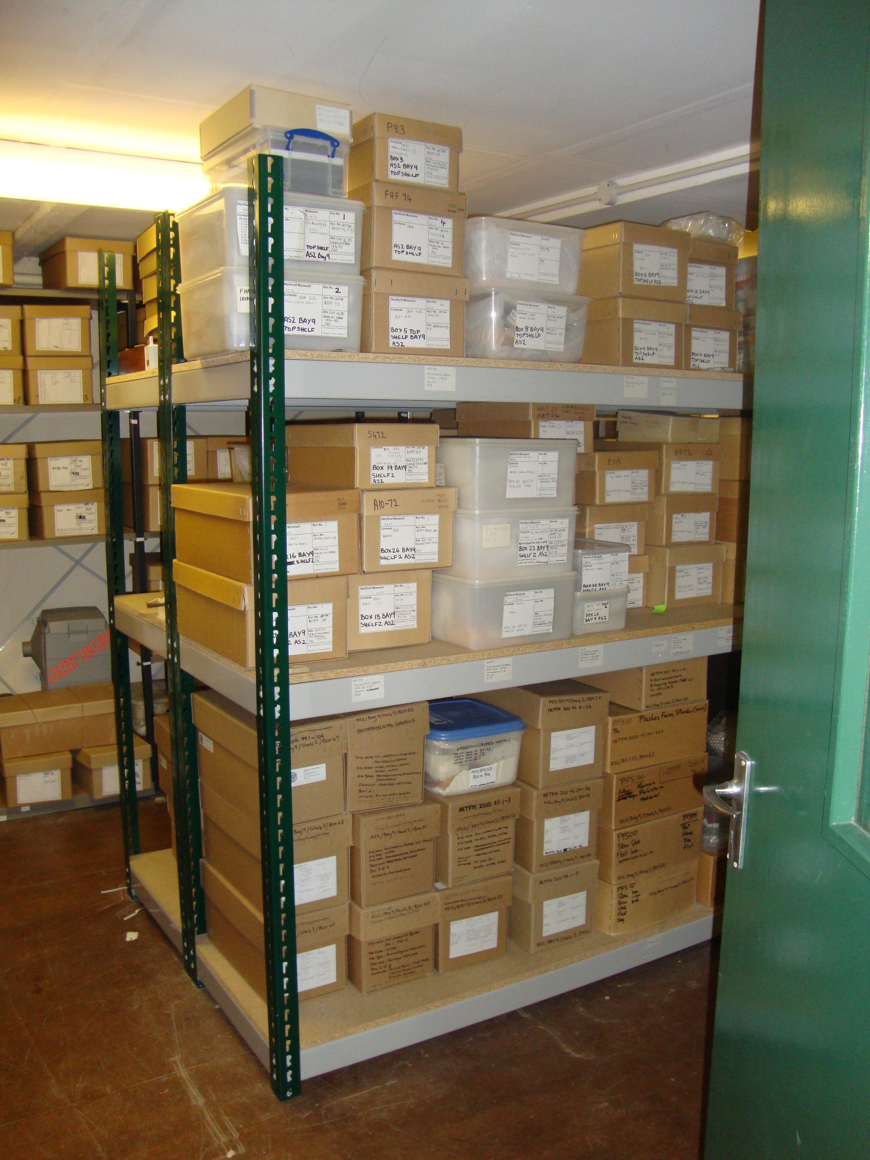 Hertford Museum Archaeology Storage by Hertford Museum fundraising photo 1