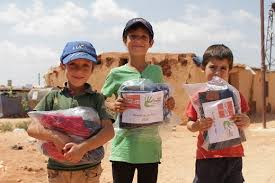Eid Gift For Syrian Kids (£20 Each)  مشروع هدايا العيد لأطفال سورية by Nour Al-Sham Foundation fundraising photo 1