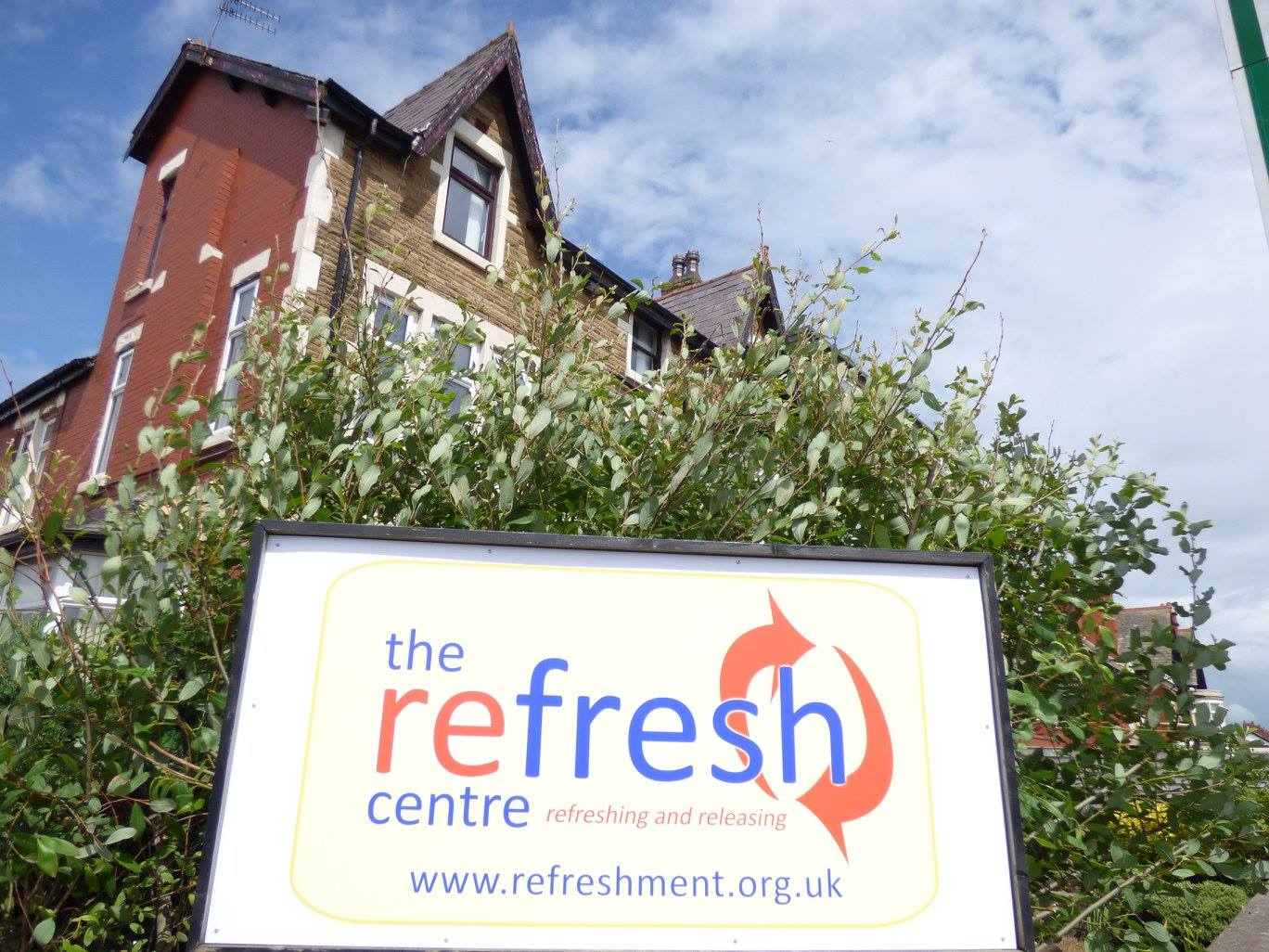 Supporting The Refresh Centre by Refreshment UK fundraising photo 2