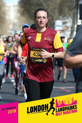 London Landmarks Half Marathon by Chartered Accountants' Livery Charity fundraising photo 2