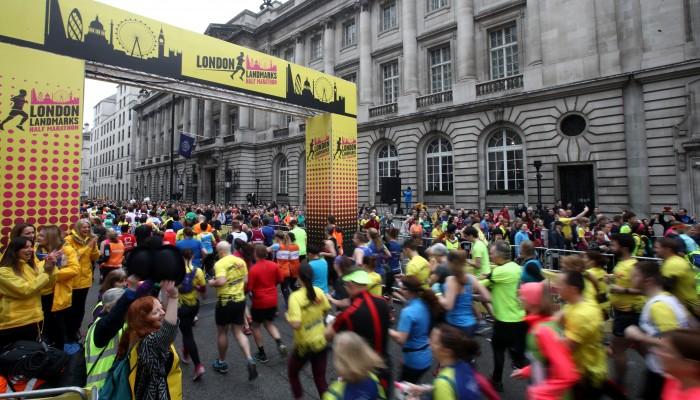 London Landmarks Half Marathon by Chartered Accountants' Livery Charity fundraising photo 1