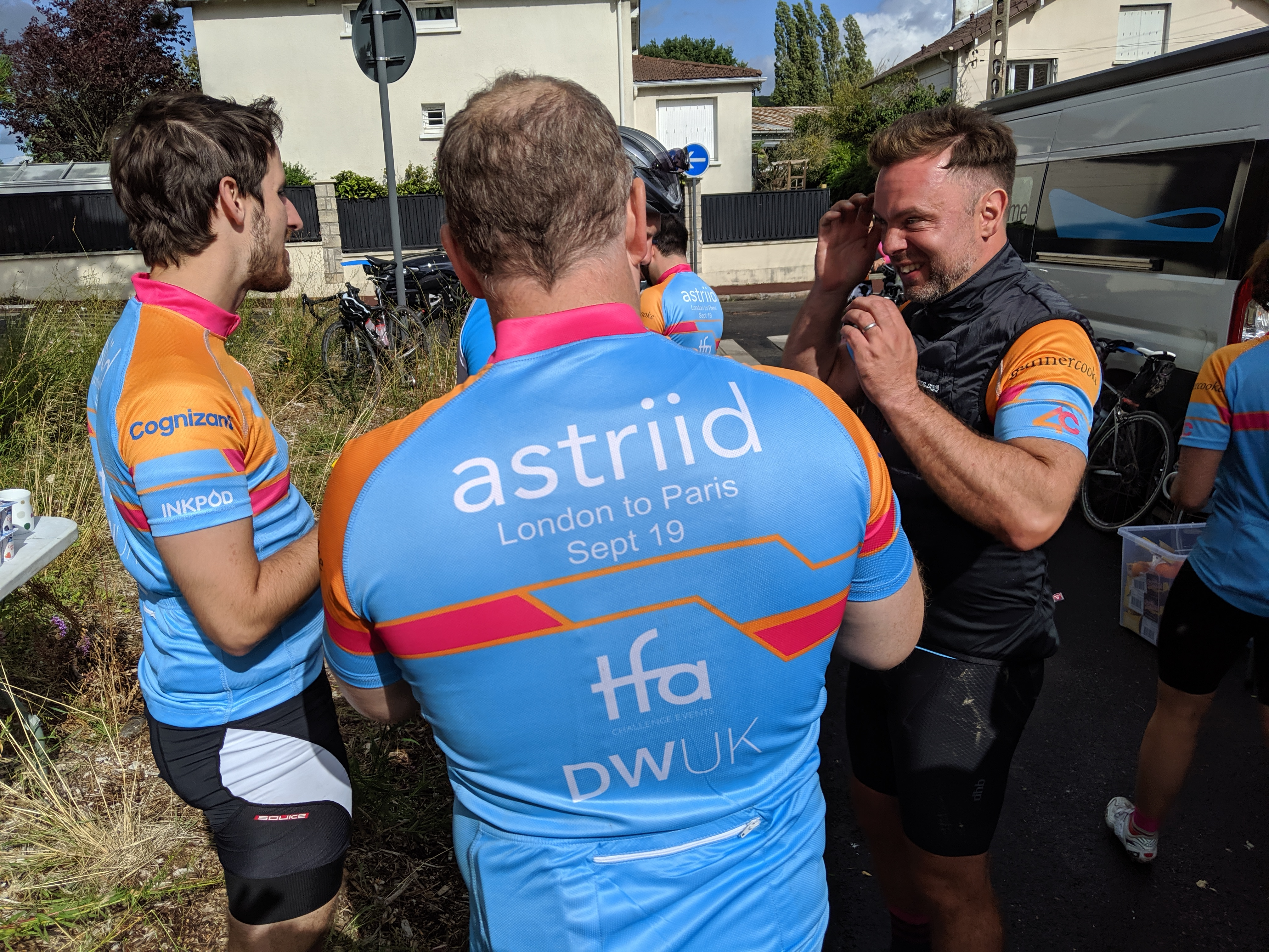 London to Paris 2 (L2P2) by Astriid fundraising photo 2
