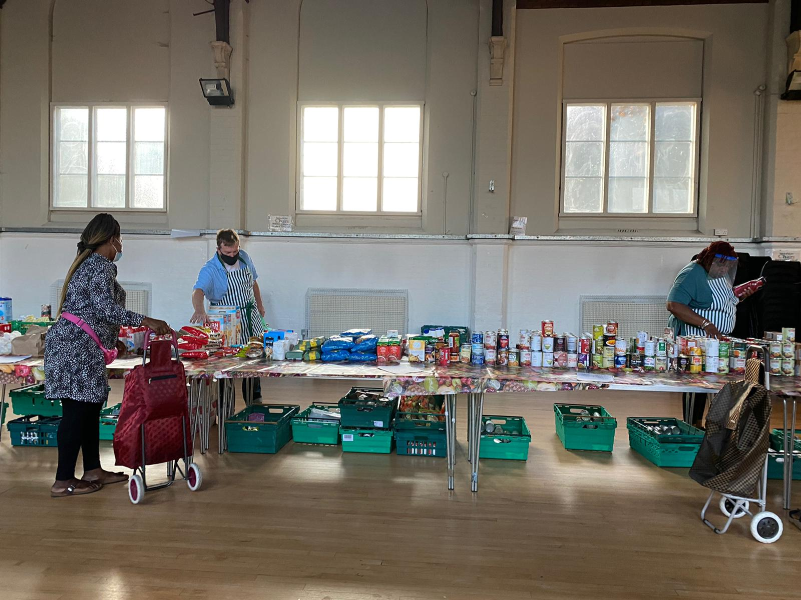 Fundraising for Bounds Green Food Bank  by Bowes Park Community Association fundraising photo 4