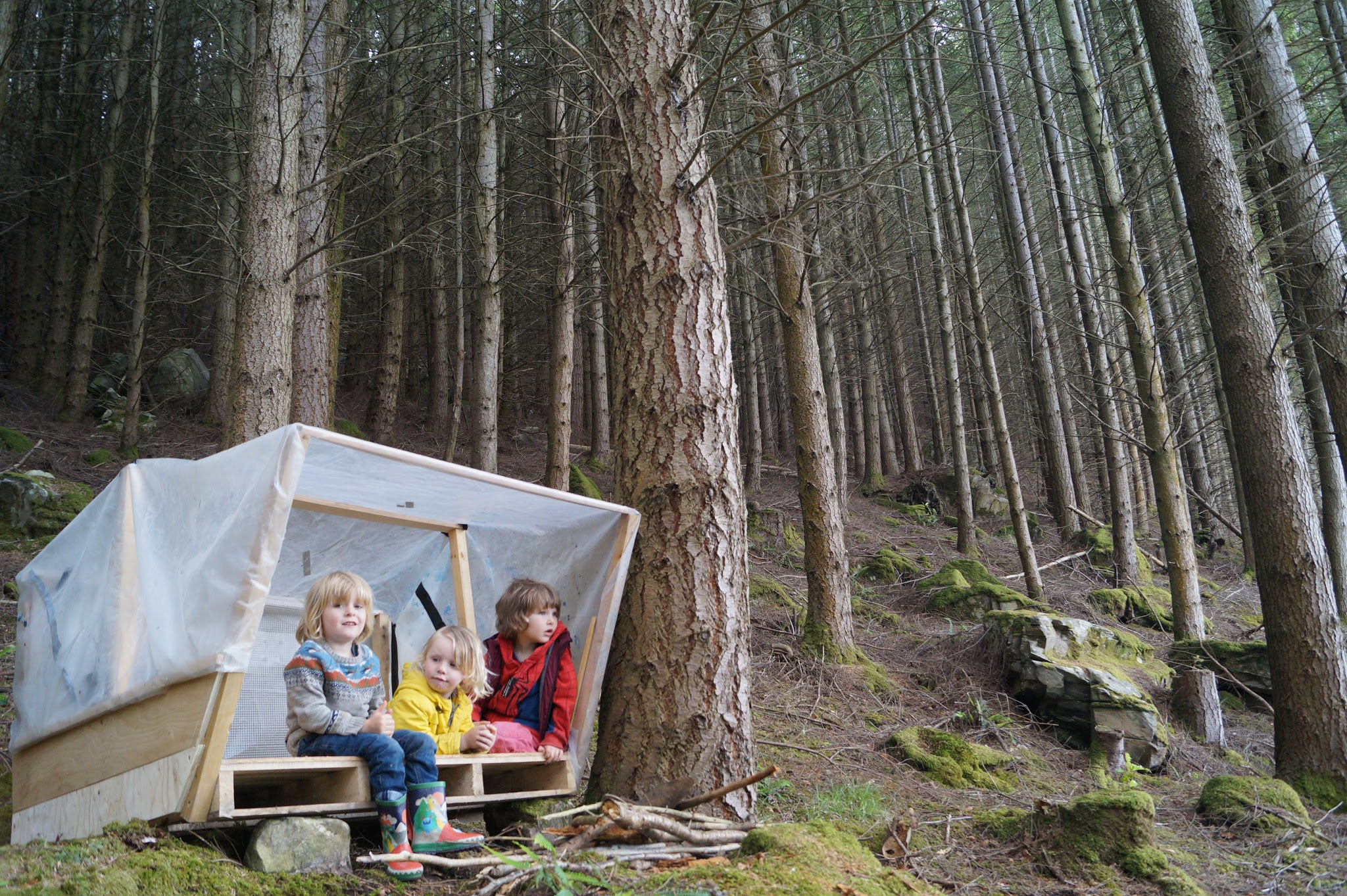New Outdoor Nursery for Highlands by Kinder Croft CIC fundraising photo 1
