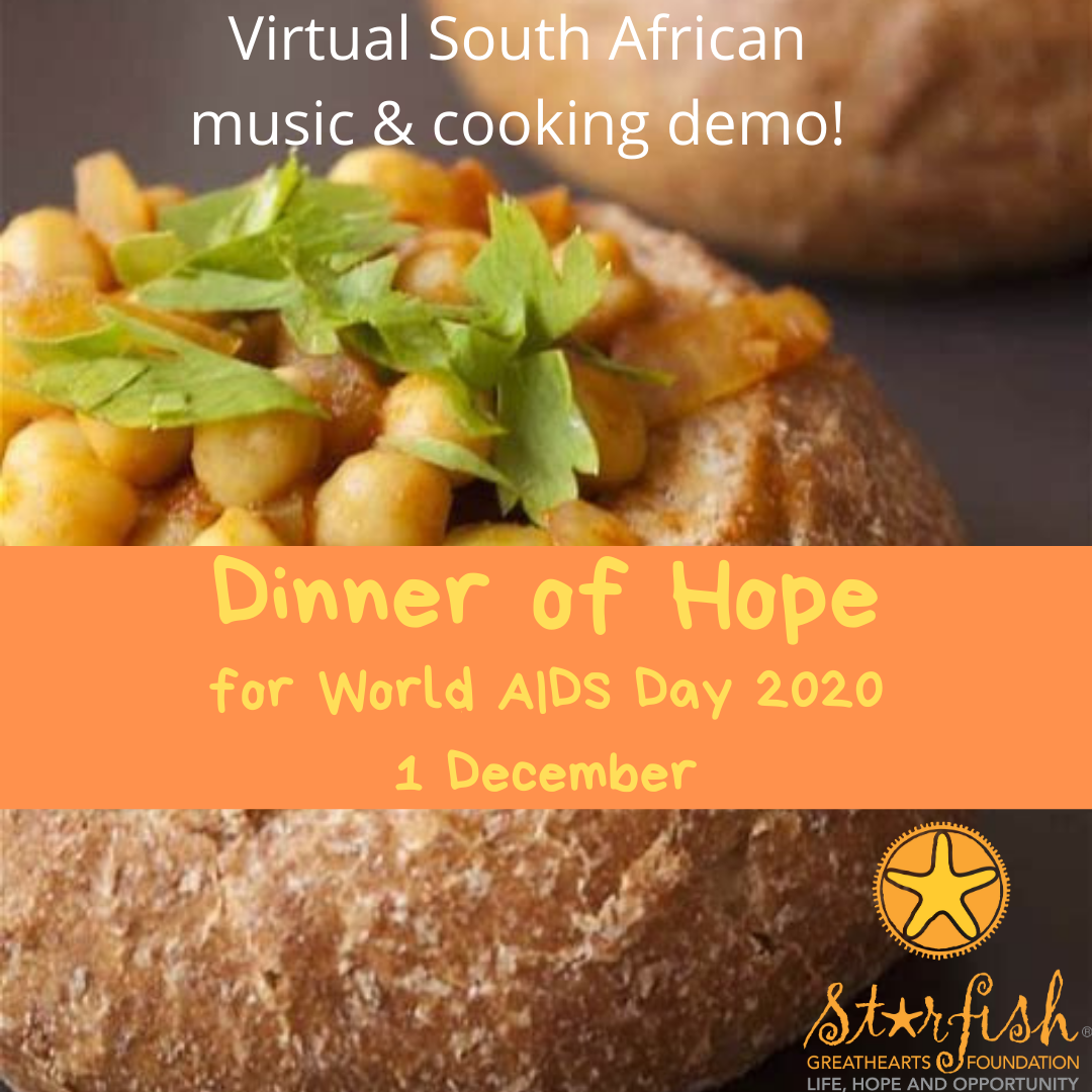 Host a Dinner of Hope in 2021 by Starfish Greathearts Foundation fundraising photo 4