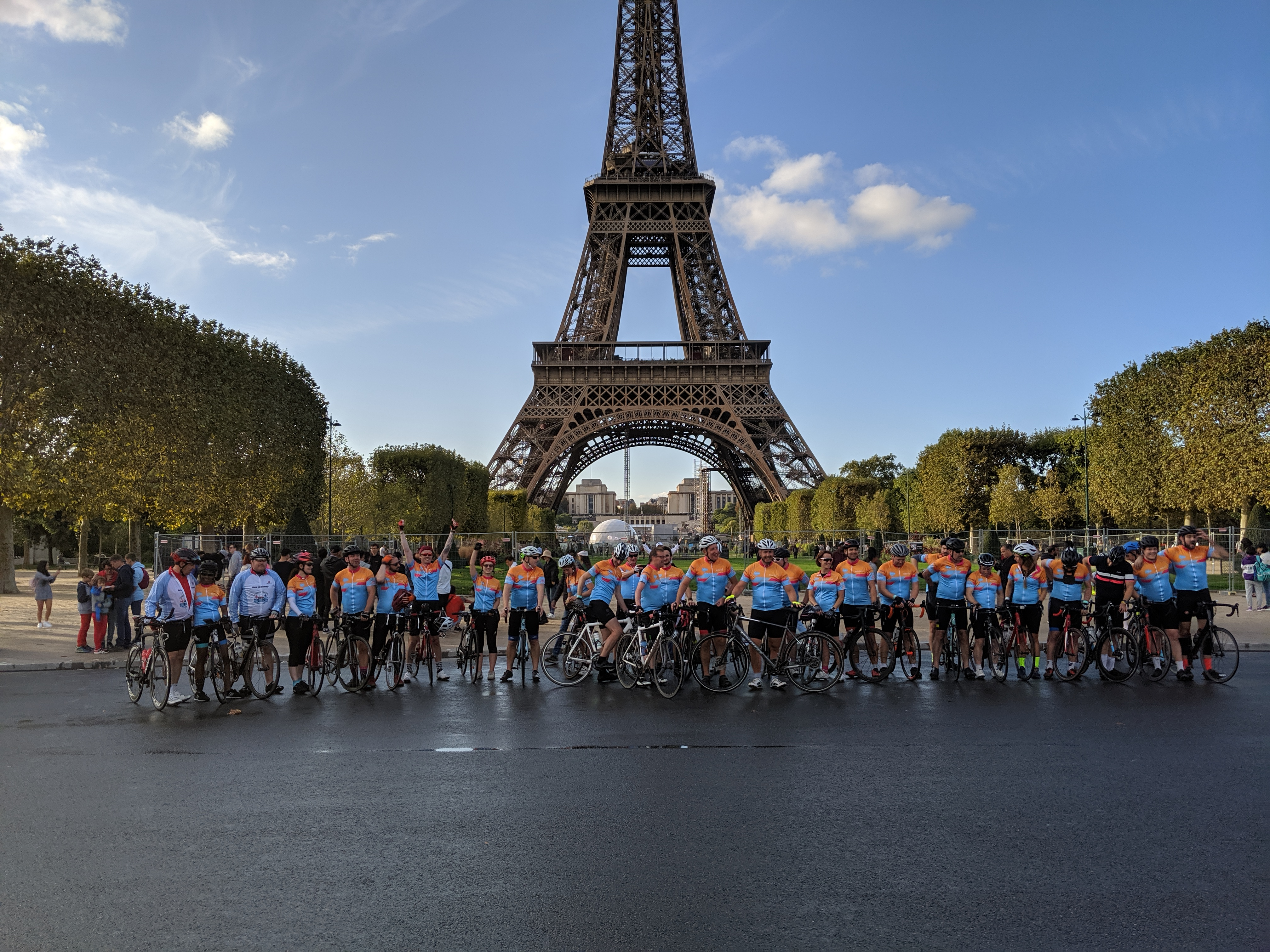 London to Paris 2 (L2P2) by Astriid fundraising photo 1