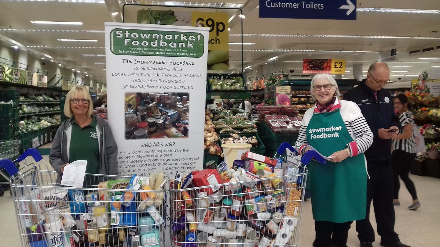Stowmarket & area foodbank by New Life (Suffolk) fundraising photo 1