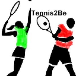 Tennis2Be (Charity) logo