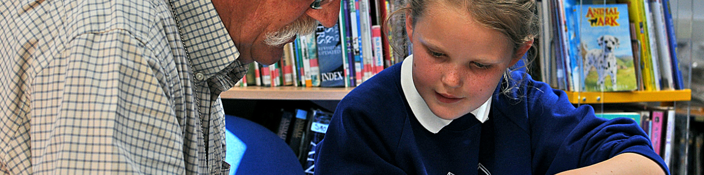 Dorset Reading Partners logo