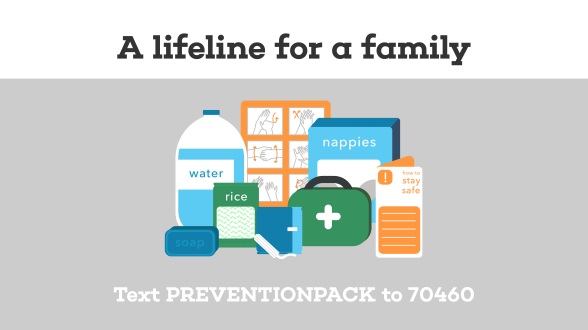 COVID-19: Prevention Pack Appeal