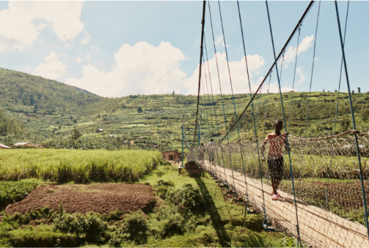 Balfour Beatty and Mott MacDonald: Providing Safe Access for Rwanda in 2019 by Bridges to Prosperity UK Charitable Trust cover photo