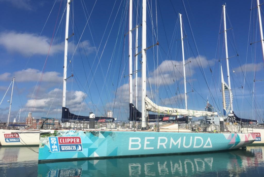 Caroline Speight, Clipper Round The World Race by The AHOY Centre cover photo