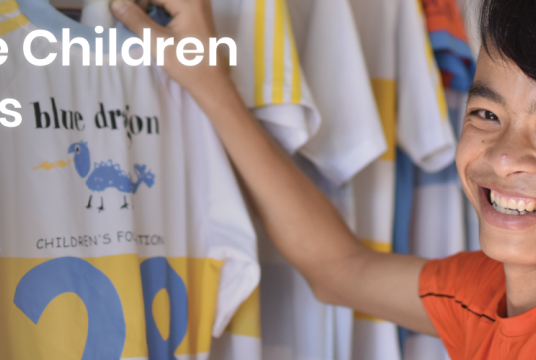 Rescue children in crisis - Blue Dragon Rescue Appeal 2019 by BLUE DRAGON CHILDRENS FOUNDATION UK cover photo