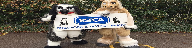 RSPCA GUILDFORD AND EPSOM BRANCH logo