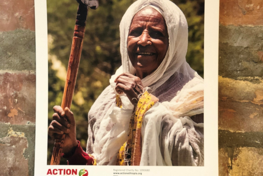 Calendar 2018 purchase or donate by Action Ethiopia cover photo