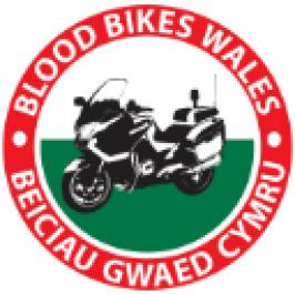 Blood Bikes Wales logo