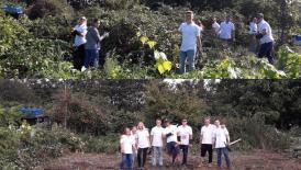 GAF team day take on tree planting 6th Sept