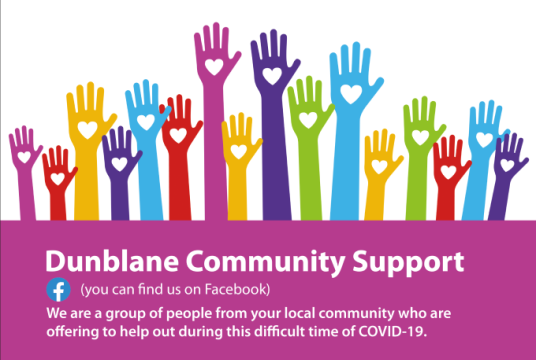 Dunblane Community Support by Dunblane Development Trust cover photo