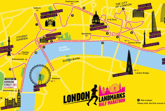 London Landmarks Half Marathon by Chartered Accountants' Livery Charity cover photo