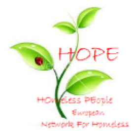 HOmeless PEople HOPE logo