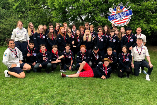 GLN World Scout Jamboree Fund 2019 by Greater London North County Scout Council cover photo