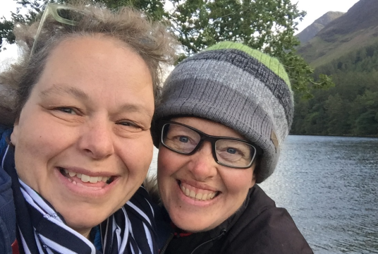 Sponsor Maggie Page and Sara Hawkins for The Big Cambridge-Calais Sleepout 2020 by CamCRAG cover photo