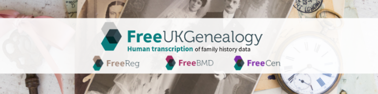 Free UK Genealogy logo