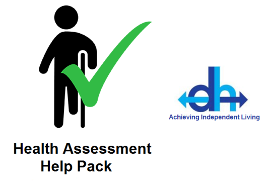 Health Assessment Help Pack by Disability Huntingdonshire cover photo