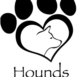 Harley's Hounds Dog Rescue logo