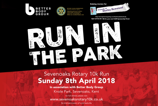 RUN in the PARK  8th April 2018 by Friends of Shelby Newstead cover photo