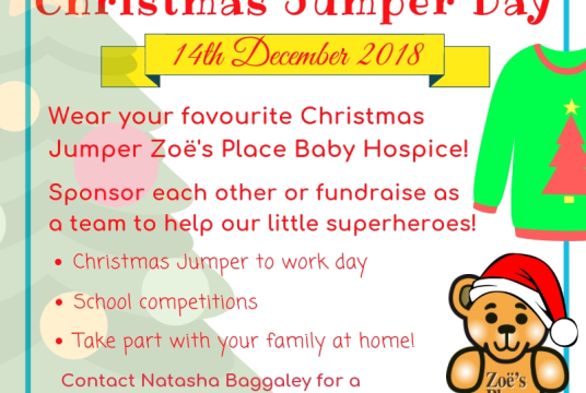 Christmas Jumper Day by Zoe's Place Baby Hospice - Liverpool cover photo