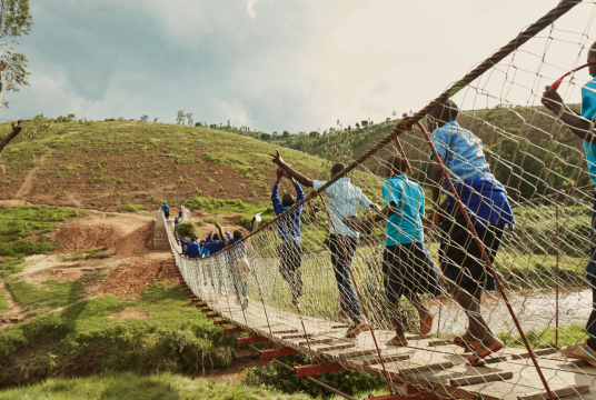 Arup: Providing Safe Access for Rwanda in 2019 by Bridges to Prosperity UK Charitable Trust cover photo