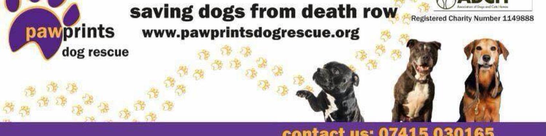 Pawprints Dog Rescue logo