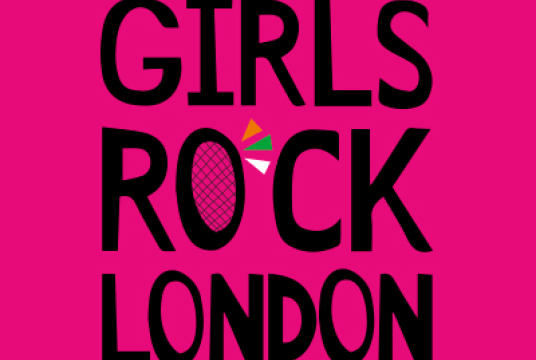 Help to change a girl's life! by Girls Rock London cover photo
