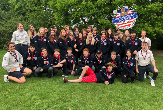 Lucas Jamboree Fundraising by Greater London North County Scout Council cover photo