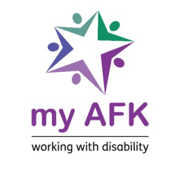 AFK - Working With Disability logo