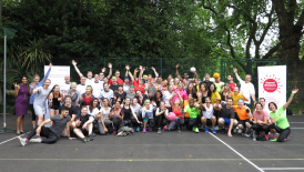 The Fillies charity mixed netball tournament