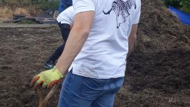 Team Volunteering Day - Leyes Road Allotment - 9 August
